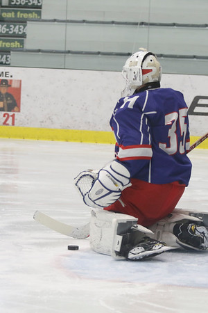 Boys' JV Hockey vs. Berwick   February 1