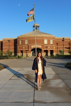 June 3 - Hailey Graduation Cap & Gown