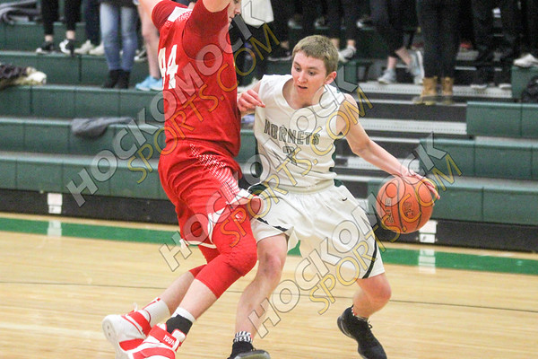 Mansfield-North Attleboro Boys Basketball - 01-27-17