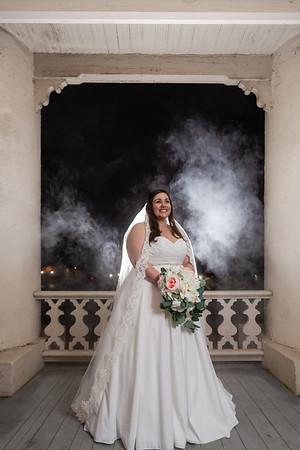 Emily | William Peace University Bridal Portraits
