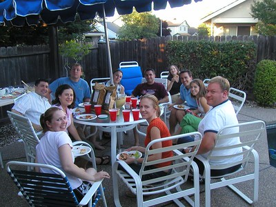 West Roseville Small Group BBQ - June 2, 2005