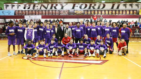 1/2020 RHS Boys Varsity  Basketball vs Henry Ford II