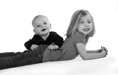 Matt and Meghan Black and White