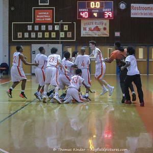 Boys Frosh Basketball vs McLean 1/24/17