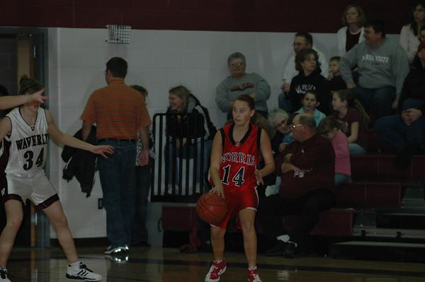 Var Girls Basketball vs Waverly 1/23/09
