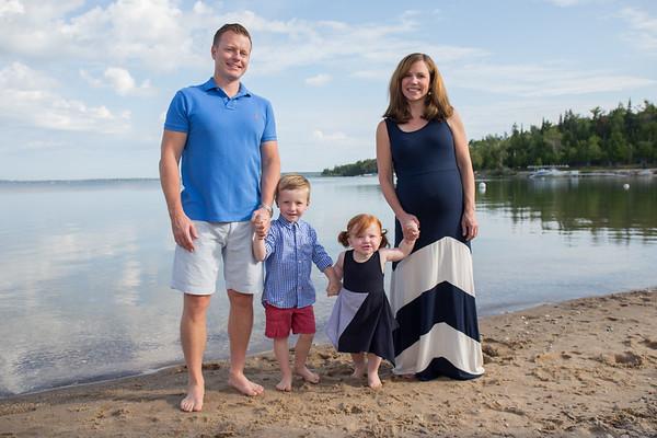 Lake Charlevoix family photography East Jordan rental home