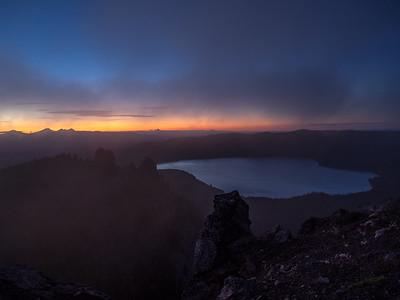 Black Butte, Paulina Peak, and the Lava Cave  07/12/16 & 07/13/16