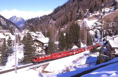 Switzerland - Rhätische Bahn