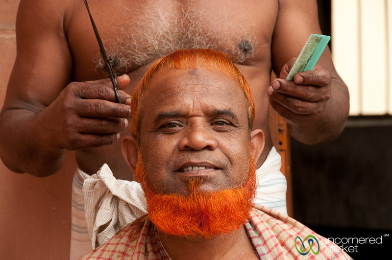 Henna and a Haircut - Old Dhaka, Bangladesh