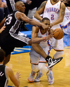 Thunder V Spurs Game  4