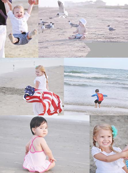 Galveston Beach Children