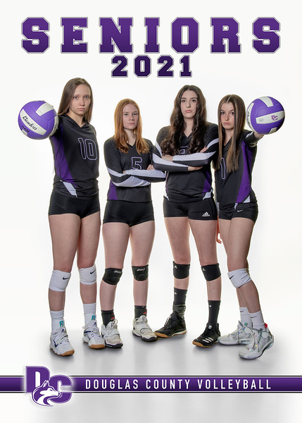 2020-21 Douglas County Volleyball