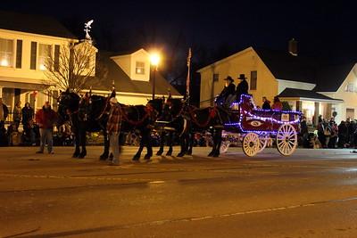 Lebanon Horse Drawn Carriage Parade - Lebanon, OH - 2 Dec. '17