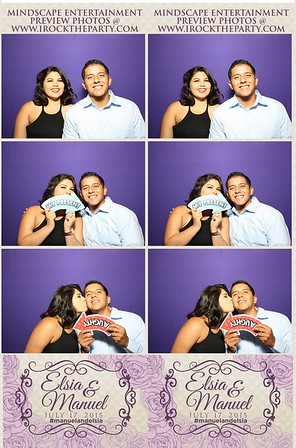Elsia & Manuel Garcia's Weding - Photo Booth Pictures