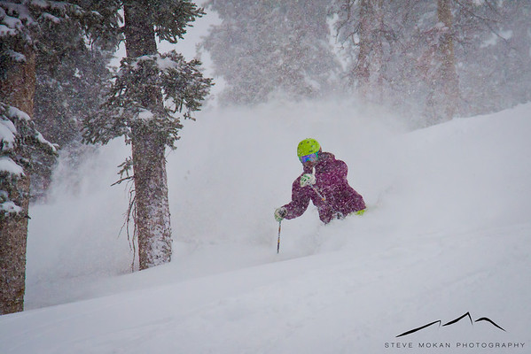 April Powder Skiing- Loveland Ski Area (Apr '13)
