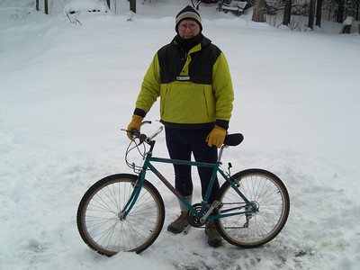 Winter Biking:riding in the snow can be a lot of fun!
