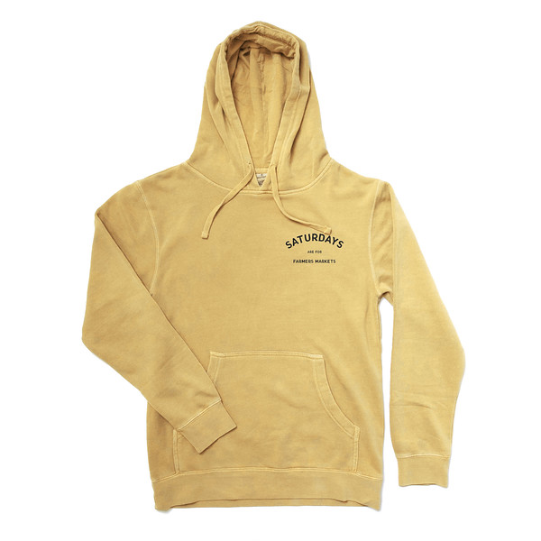Organ Mountain Outfitters - Outdoor Apparel - Hooded - Saturdays Are For Farmers Markets Hoodie - Pigment Yellow.jpg