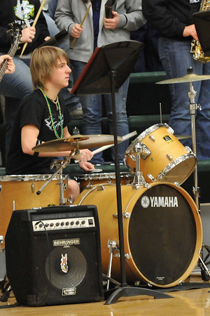Pep Band Perry Game 2010