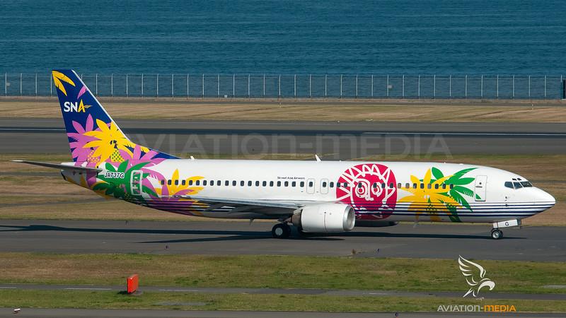 SNA Skynet Asia Airways Boeing B737-400 JA737G