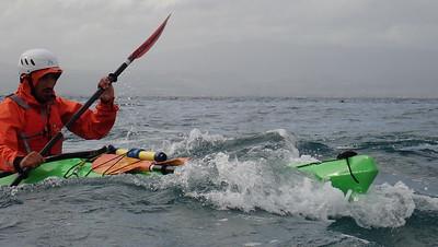British Canoeing - Sea Kayak Leaders Training -Corinthian Gulf, November '17