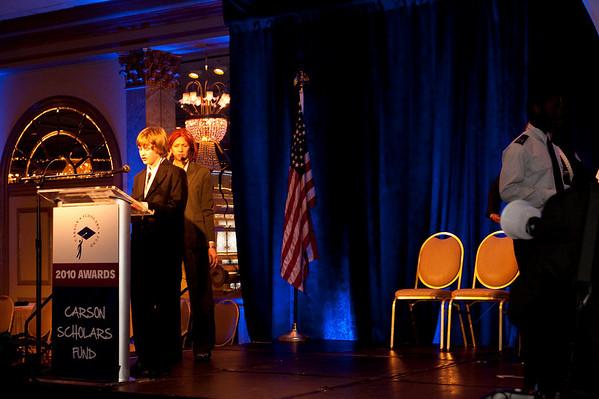 Carson Scholars Fund Awards Banquet 2010