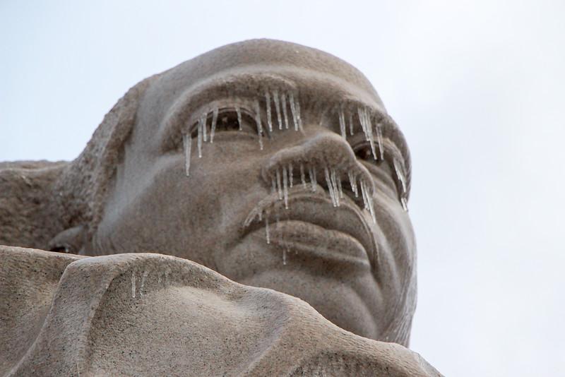 Ice Storm - MLK Memorial