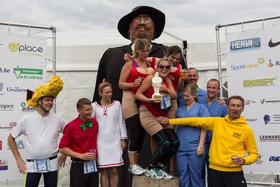 Sterke Peer triatlon 2013 - Prijsuitreiking