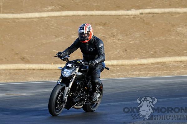 Black Ducati Streetfighter