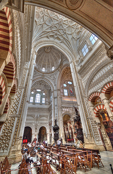 Curch  inside the Mezquito