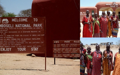 Amboseli Game Drive