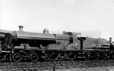 Deeley Midland Railway 990 Class 4-4-0