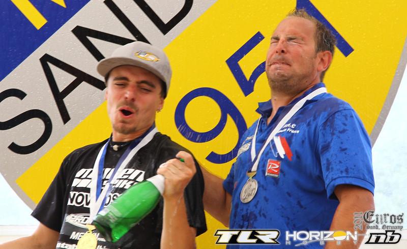 2011 European Championships - Finals day