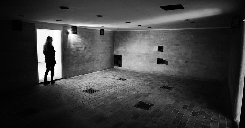 Gas chamber at Dachau.