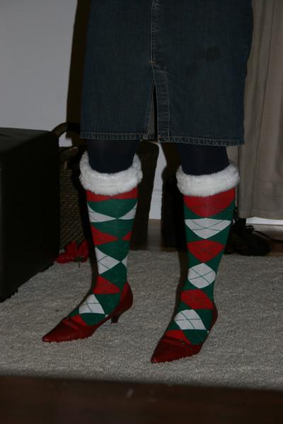 nice boots jamie!