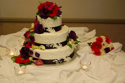 Cake flowers $35-$45