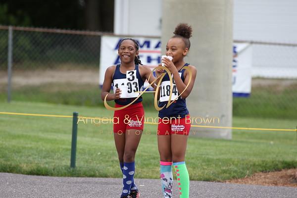 2017 AAU RegQual : Girls 100m Trials