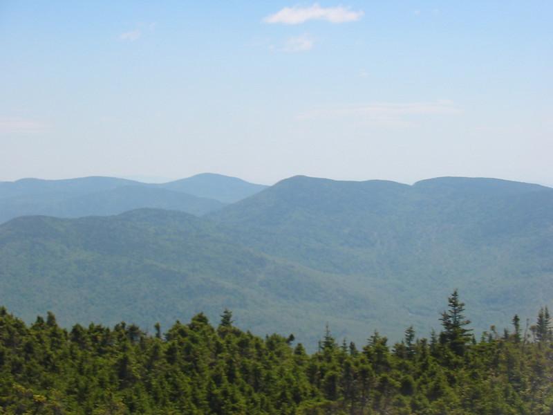 Bear Mtn near and Wheeler behind