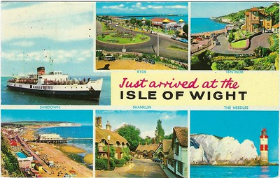 Hampshire & Isle of Wight With Ships