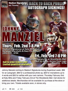 manziel-to-sign-autographs-take-50-selfies-in-houston-ahead-of-super-bowl