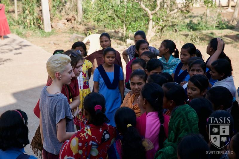 Global Service Learning Trip - Gram Vikas - India