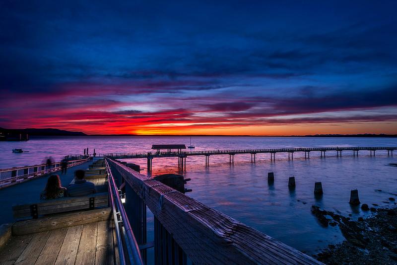 Sunset Over Bellingham Bay 0020