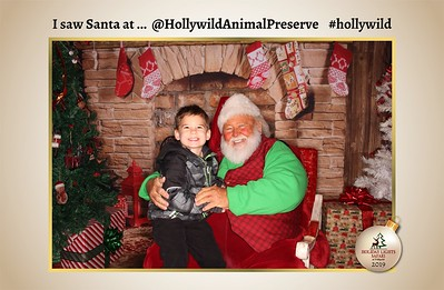 Hollywild Santa Photos - 121819