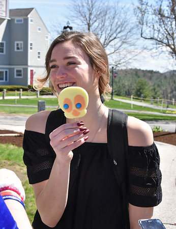 Ice Cream Truck & Balloons on Library Courtyard 5-8-19