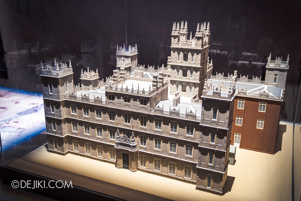 Downton Abbey The Exhibition - Model of the House