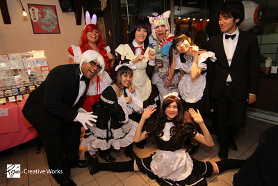 Maids VS Butlers Cafe @ Batten Ramen - Fort Lee, NJ - 06/17/16