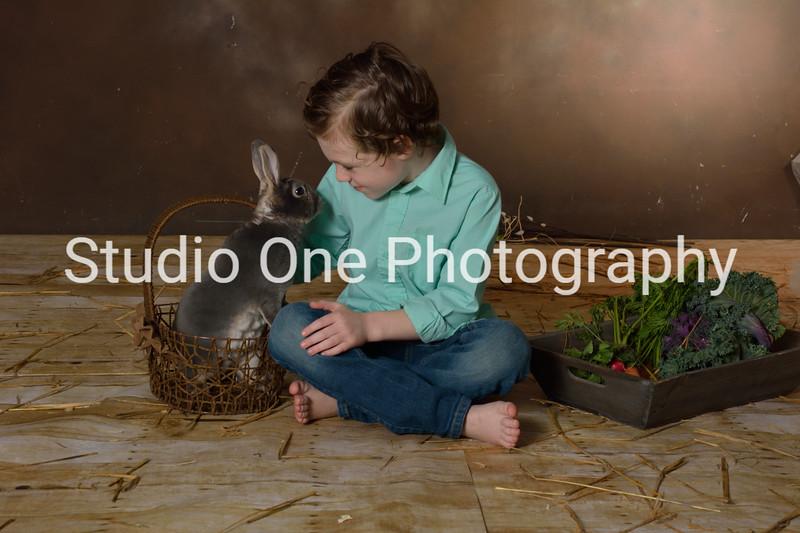 Joanie & Deanna see the bunny