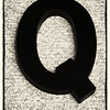 "March 3, 2014  They Call Me ""Q""  (62/365)  Daily theme: My Name is... #fmsphotoaday"