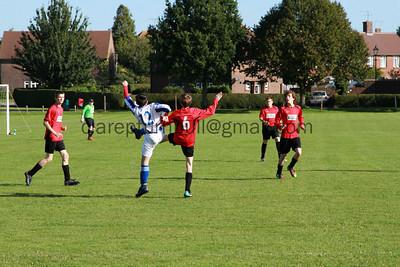 Football Sparrows v Ashington 18 09 10
