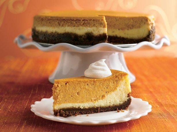 Description of . Layered Pumpkin Cheesecake Betty Crocker