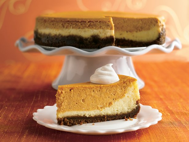 . Layered Pumpkin Cheesecake Betty Crocker